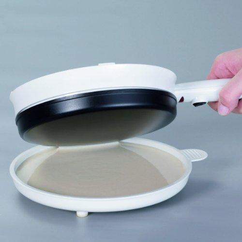 Cloer 677 Crêpe-Maker-Cordless für hauchdünne Crêpes / 700 W / Backfläche mit 18,5 cm Durchmesser -
