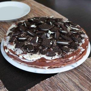 Crepes-Oreo-Torte