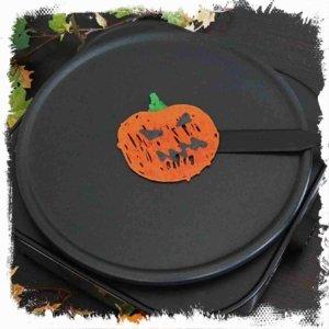 Kürbis Pancake zu Halloween