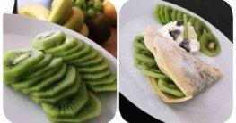 Kiwi Crepes Rezept